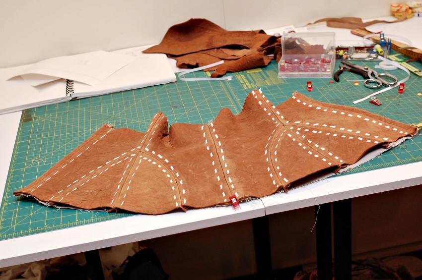 stitching channels